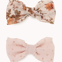 Bow Hair Clips | FOREVER 21 - 1057476858