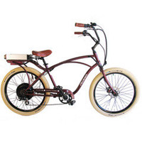 The Electric Comfort Bicycle - Hammacher Schlemmer