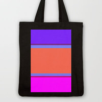 Re-Created Playing Field XXXII Tote Bag by Robert Lee
