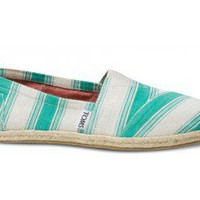 Aqua Umbrella Stripe Women's Classics | TOMS.com
