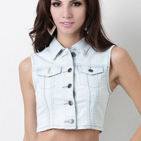 Rambling Rebel Denim Vest