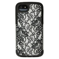 Agent18 Hero/Julia Cell Phone Case for iPhone®5 - White/Black (P5HRO/46)