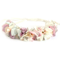 eliurpi Floral petal crown headband