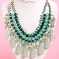 Return the Compli-mint Mint Statement Necklace