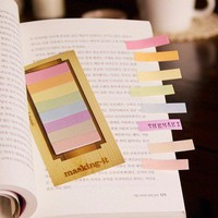 Colorful Masking-it Index Sticky Note Set | nothingelegant - Paper on ArtFire