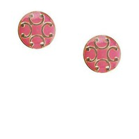 Peabody Studs in Pink