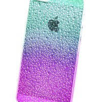 Case for iPhone 5 - Rain Drops Raindrop Water Ocean Drop Wet Sea Beach