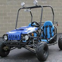 Go Kart 125cc Semi Auto with Reverse New Look