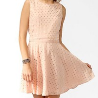 Metallic Dots Swing Dress | FOREVER 21 - 2000049487