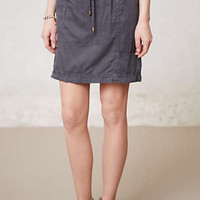 Anthropologie - Slate Utility Skirt