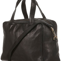 Boxy Leather Holdall
