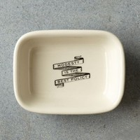 Modesty Soap Dish