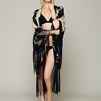 Spell & the Gypsy  Storm Tassel Kimono at Free People Clothing Boutique