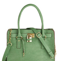 Full Course Load Bag in Green - 14"