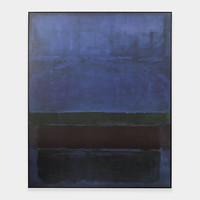 Rothko: Untitled (Blue, Green, and Brown)