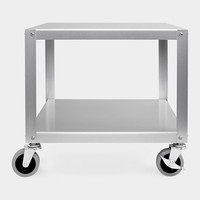 MUJI Aluminum Side Table