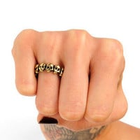 Dead or Alive Ring in Antique Silver :: tobi
