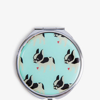 French Bulldog Mirror Compact | FOREVER21 - 1050768293