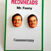 Mr. Feeny // Boy Meets World Earrings