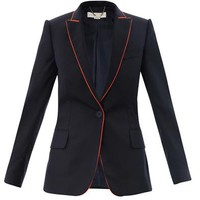 Petra contrast piping jacket | Stella McCartney | MATCHESFASHI...