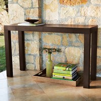 Parsons Console - Chocolate