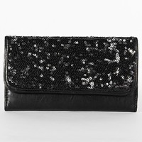Sequin Flap Wallet - Women's Bags | Buckle