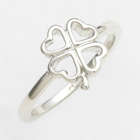 Ariella Collection Clover Ring | Nordstrom