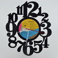 Unique Home Decor Vinyl Record Wall Clock (artist is Genesis)