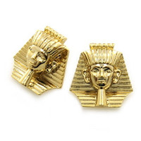 ROIAL Sphinx Earrings Gold