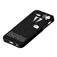Poker Champ Pinstripe Suit iPhone 5 Vibe Case iPhone 5 Case from Zazzle.com