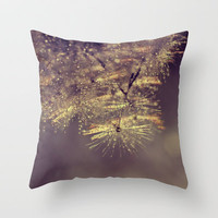 rainbow sparkles Throw Pillow by ingz