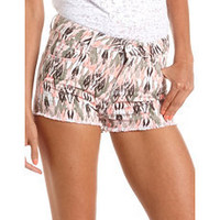 Dollhouse High Waisted Tribal Short: Charlotte Russe