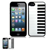 IPhone 5 Black Piano Laser Cut Design Case:Amazon:Cell Phones & Accessories