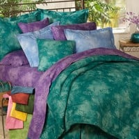 Caribbean Coolers Bedding Ensemble by Kimlor | Solid Color Comforter Sets, Bed In A Bag Sets, Bed In Bag and Daybeds by Kimlor | PaulsHomeFashions.com