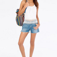 Trish Trim Halter Top $26