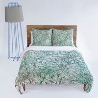 DENY Designs Home Accessories | Lisa Argyropoulos Angelica Aqua Duvet Cover