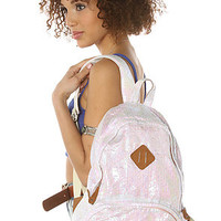 Nila Anthony Backpack Iridescent in White