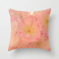 Spring illumination Throw Pillow by RichCaspian