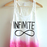 Infinite Tie Dye Tank Top