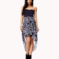 Boho High-Low Combo Dress | FOREVER 21 - 2050789425