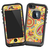 Sunshine Paisley Skin for Lifeproof iPhone 5 Case