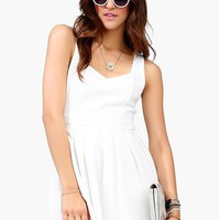 White Out Dress - Ivory