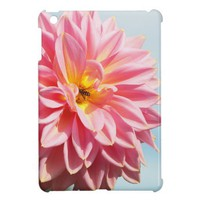 Pink Dahlia Cover For The iPad Mini from Zazzle.com
