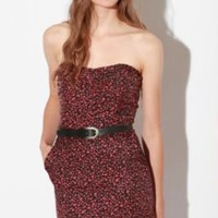 UrbanOutfitters.com > Lucca Couture Strapless Twill Dress