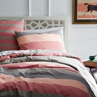 Sunrise Stripe Duvet Cover + Shams