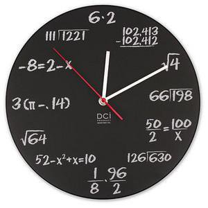 ThinkGeek :: Pop Quiz Math Clock
