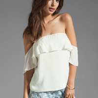 Boulee Emily Top in White from REVOLVEclothing.com