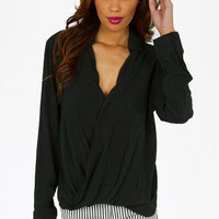 Darlington Draped Blouse $32