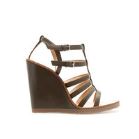 STRAPPY WEDGE SANDAL - Wedges - Shoes - Woman - ZARA United States