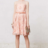 Anthropologie - Peach Blossom Dress